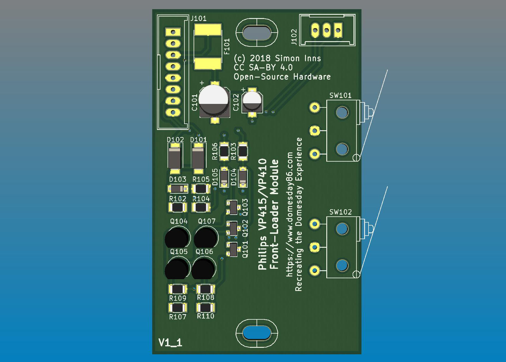 Philips Vp415 Vp410 Front Loader Module Replacement Main Board Display Schematic Circuit Diagram Pcb Top